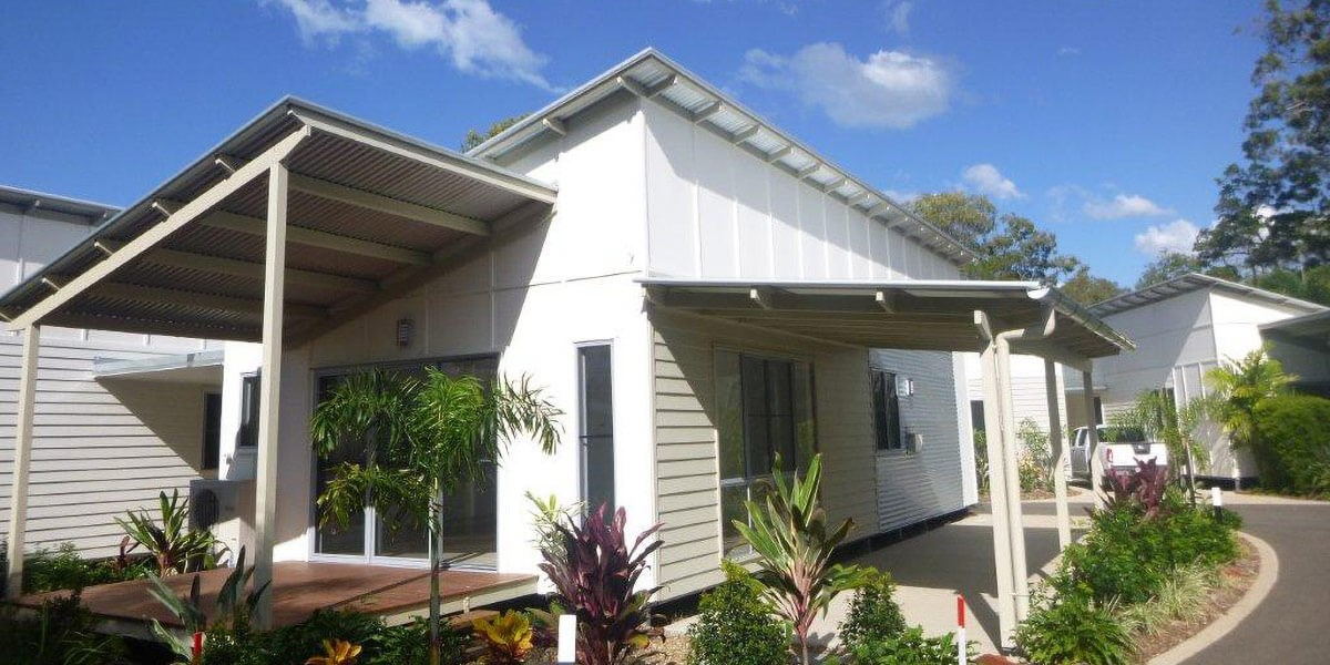 Woodgate Beach Houses exterior shot